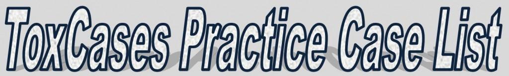 ToxCases Practice Case List Logo